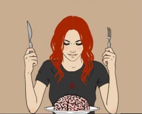 Картинка  про женщин и мозг