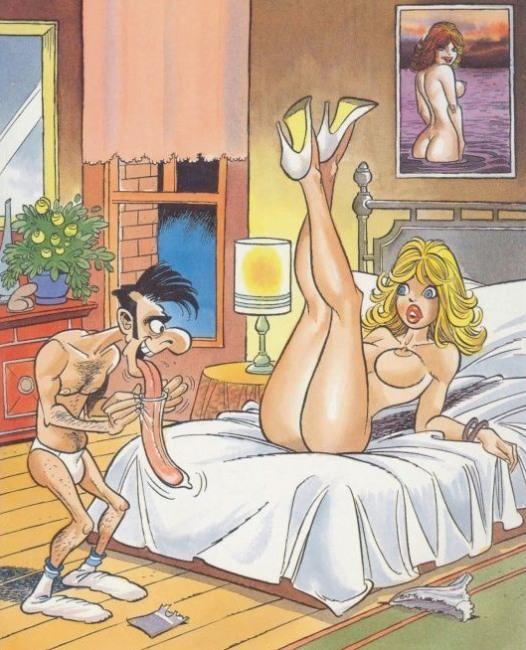 Картинка  про куннилингус, язык, презервативы пошлый