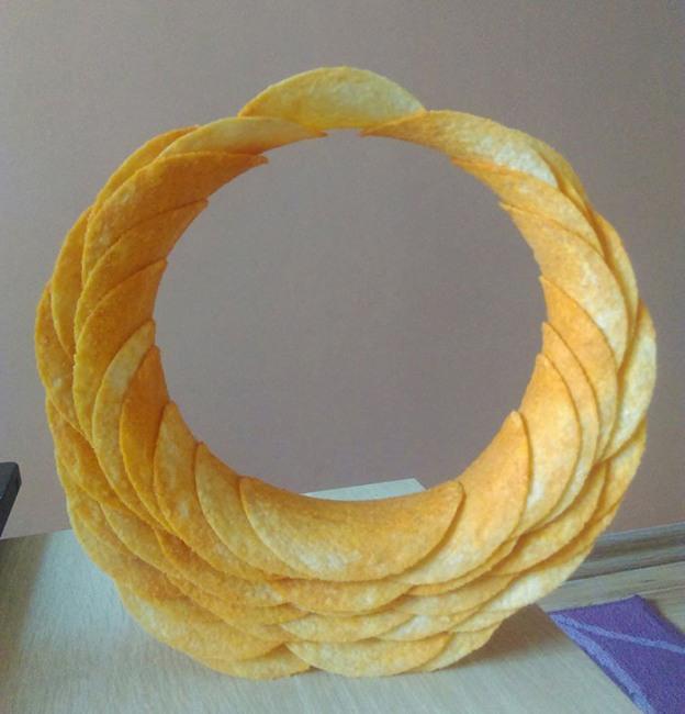 Фото прикол  про чипсы
