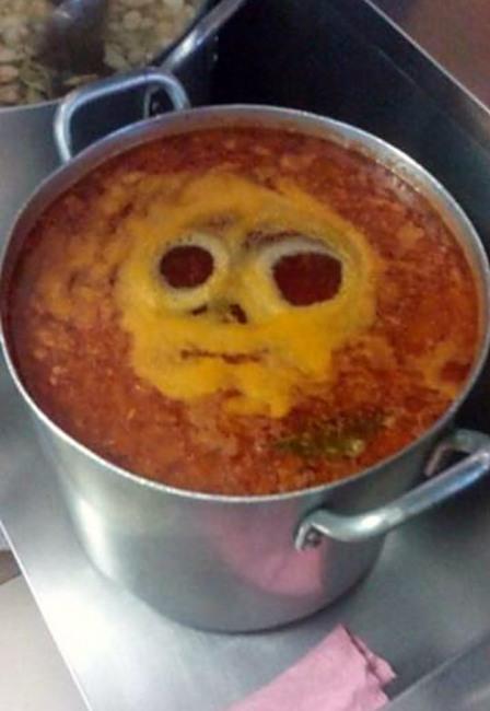 Фото прикол  про суп
