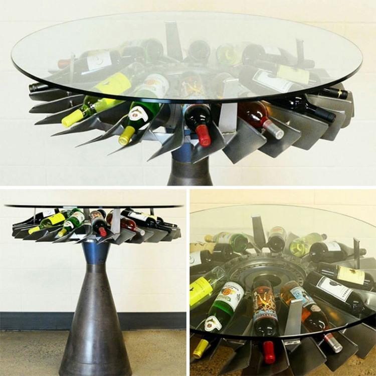 Фото прикол  про стол и вино