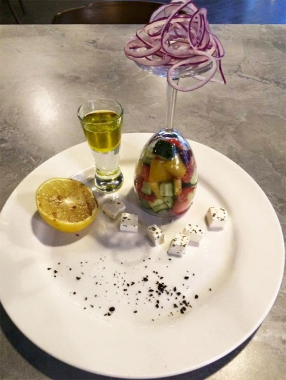 Фото прикол  про салат