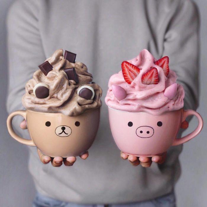 Фото прикол  про десерт