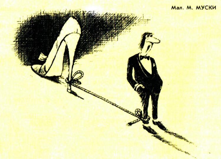 Картинка  про подкаблучников