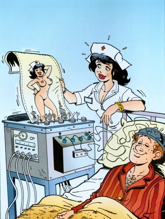 Картинка  про мысли, медсестру, интимный пошлый