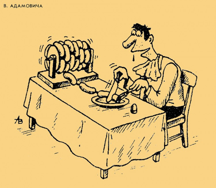 Картинка  про сосиски
