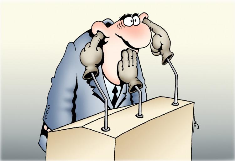 Картинка  про ораторов